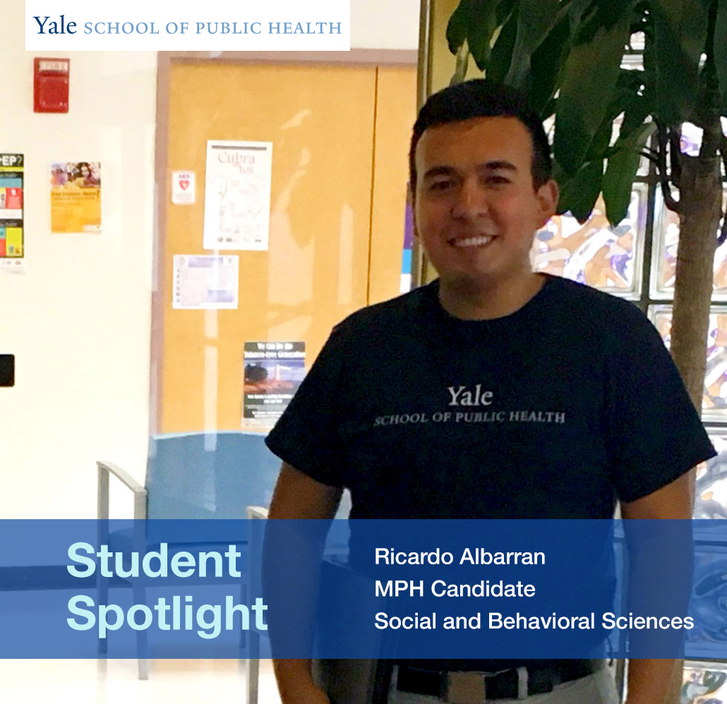 Student Spotlight Ricardo Albarran Social And Behavioral