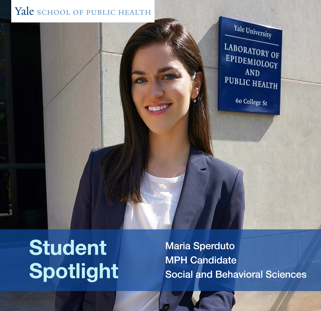 Student Spotlight Maria Sperduto Social And Behavioral Sciences