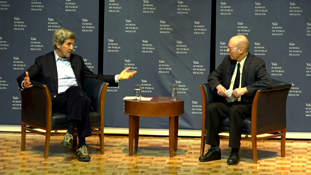 A Conversation about Climate Change with John Kerry