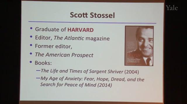 Honoree - Scott Stossel