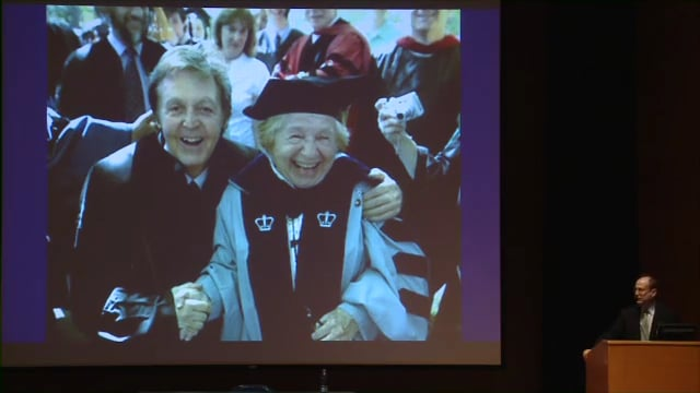 """Q&A with """"Dr. Ruth"""" Westheimer"""