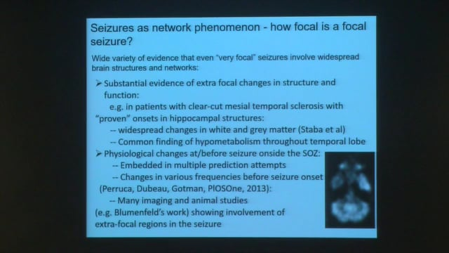 "Sydney Cash: ""Single Units, Slow Activity and New Ideas About Focal Seizures from Multiscale Human Recordings"""