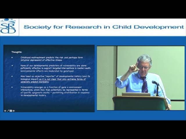 Michael Meaney: Early Environmental Regulations of Gene Expression and Brain Development