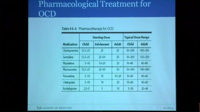 OCD - Michael Bloch, MD, MS