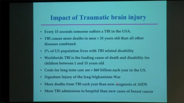 LeRoux: Goal directed therapy for severe traumatic brain injury