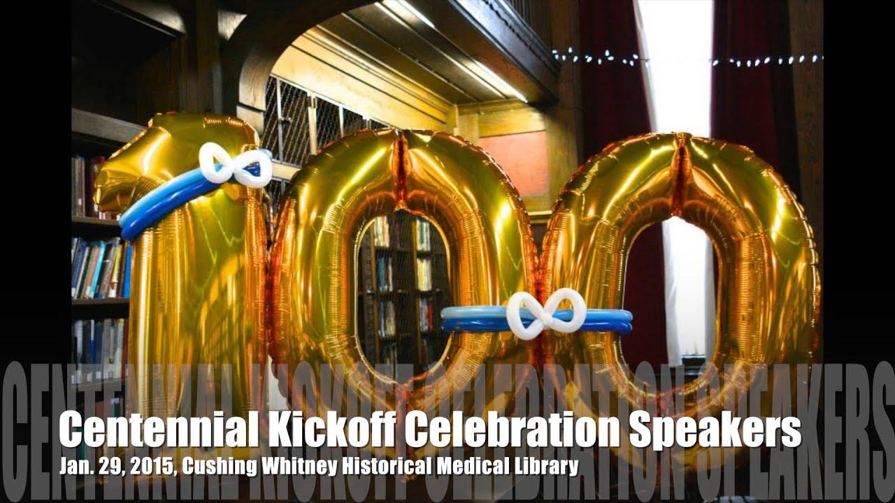 Centennial Kickoff Celebration Speakers