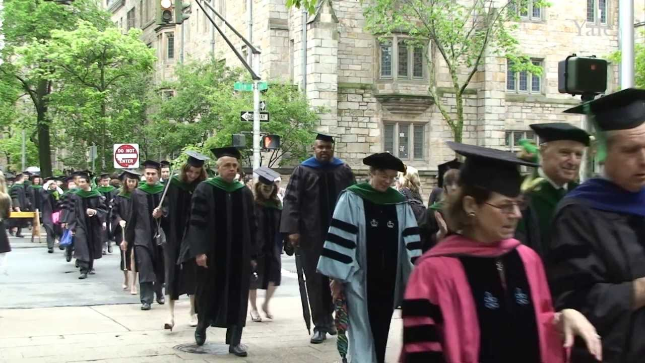 Yale School of Medicine Commencement 2013