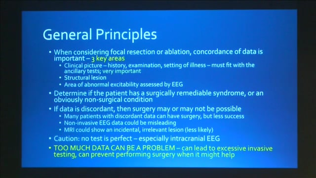 Mike Sperling, MD: The surgical decision: Challenges in diagnosing and treating patients with intractable epilepsy