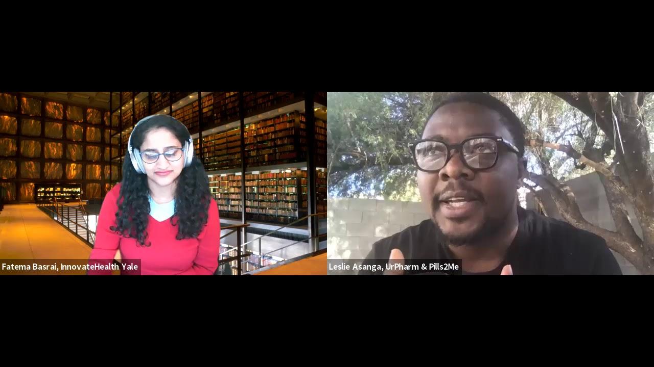 Innovate Health Yale: Conversation with Leslie Asanga