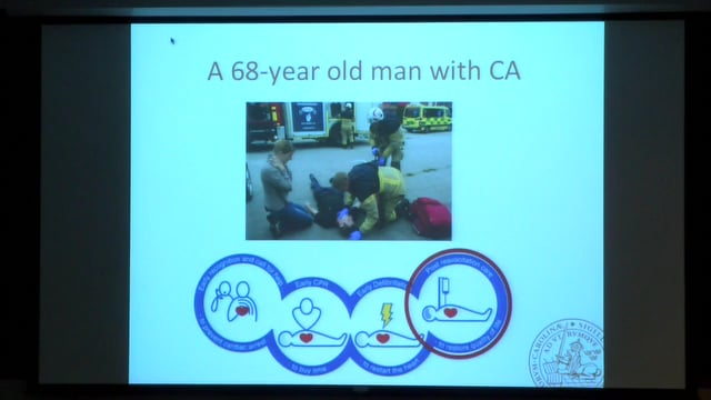 "Tobias Cronberg: ""Surviving Cardiac Arrest-What is the Functional Outcome and how is it Determined"""