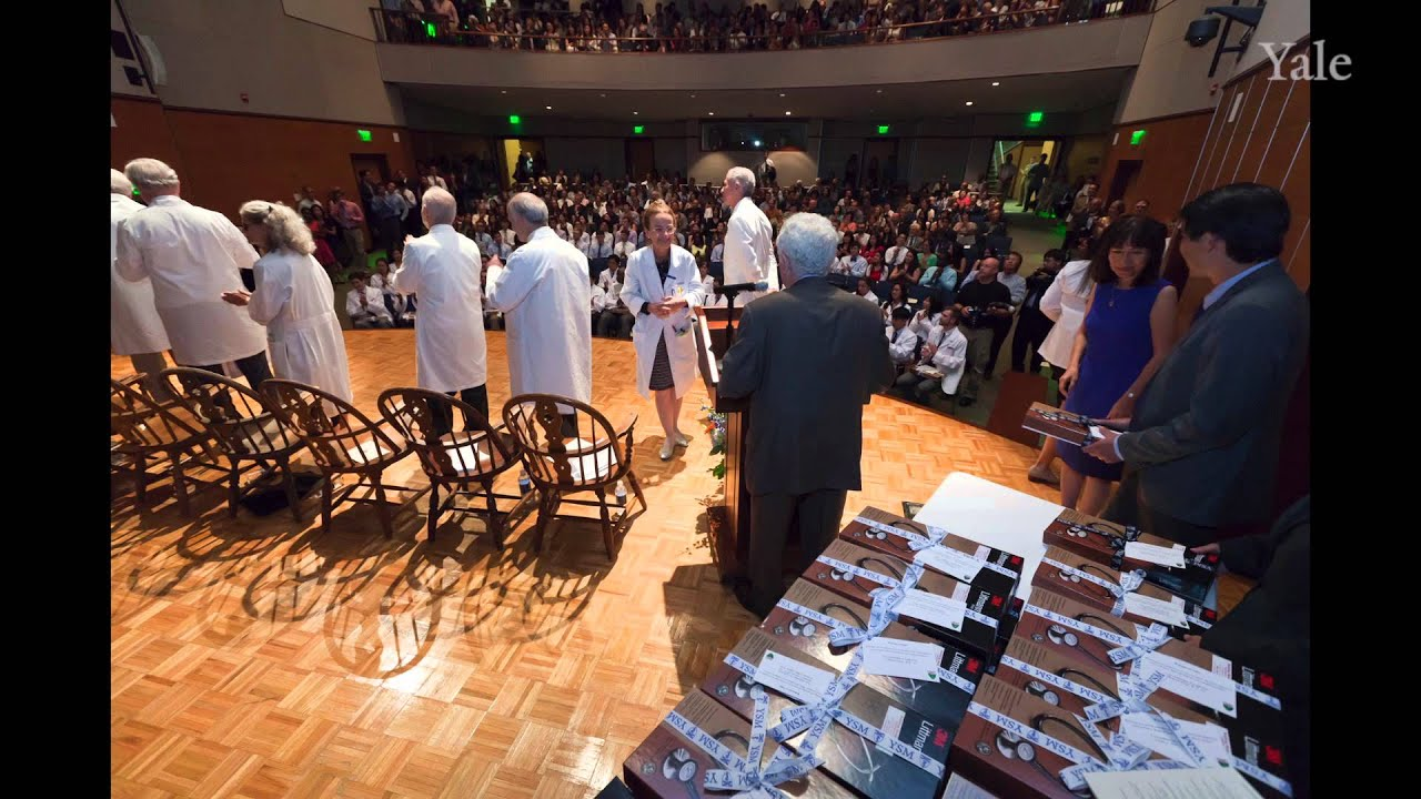 Starting a life in medicine: scenes from Yale's 2013 White Coat Ceremony