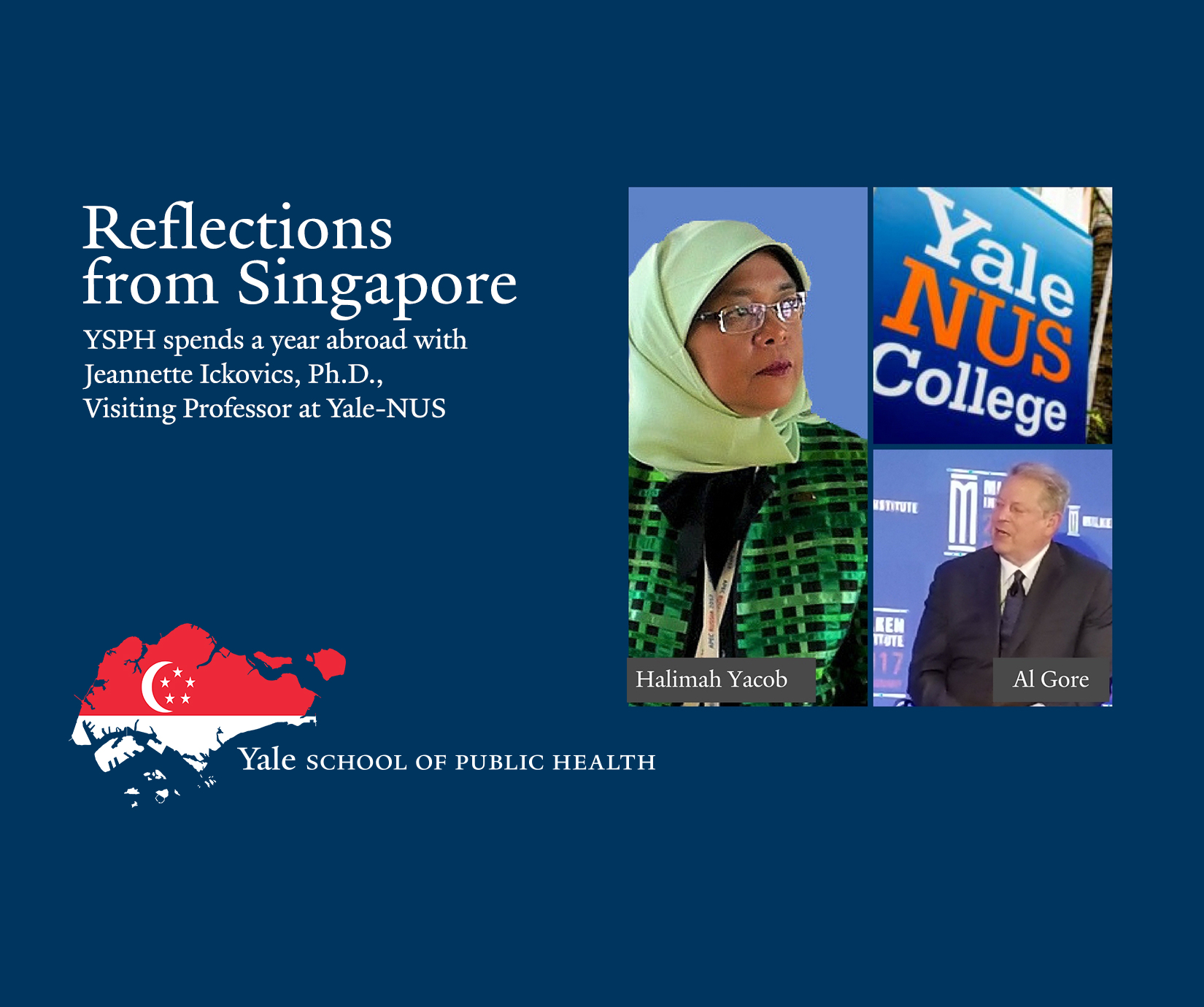 Image result for jeannette ickovics yale school of public health singapore