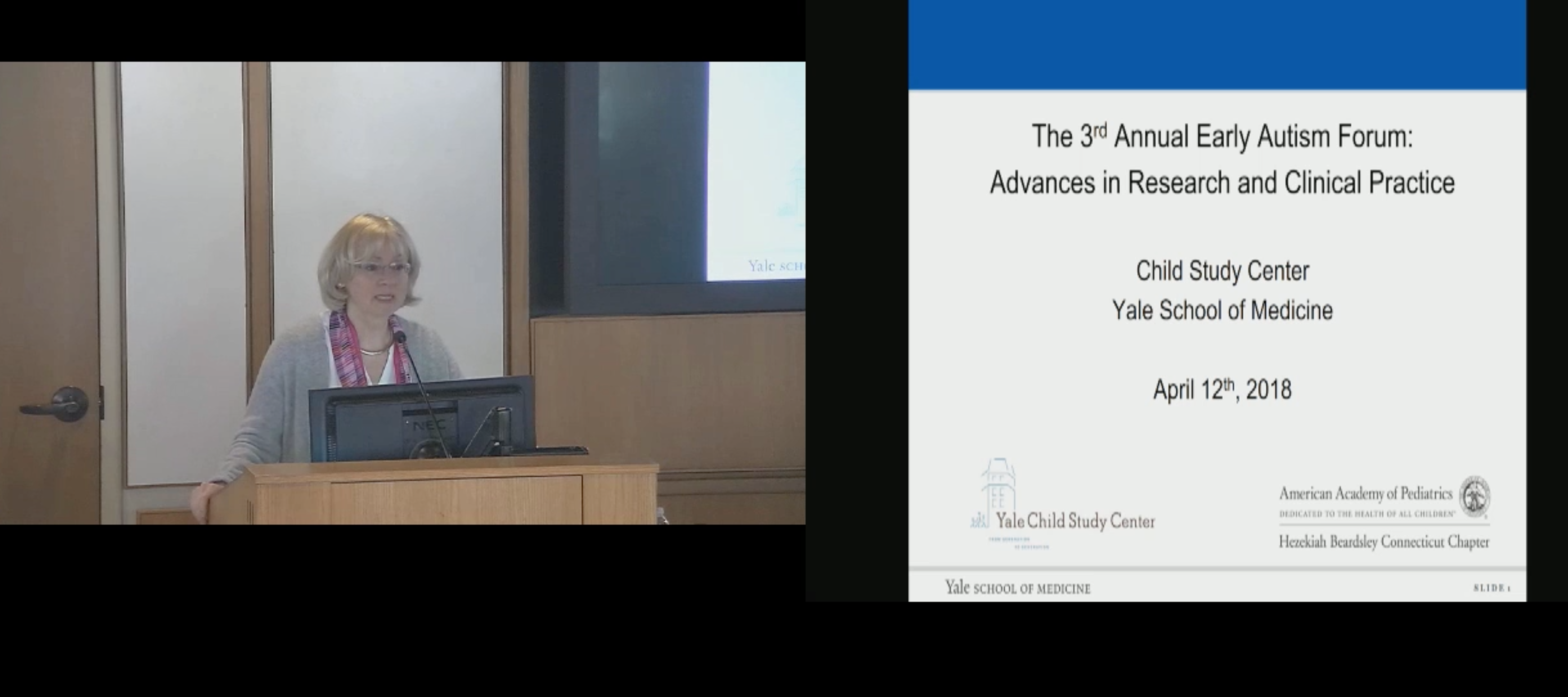 The 3rd Annual Early Autism Forum: Advances in Research and Clinical Practice
