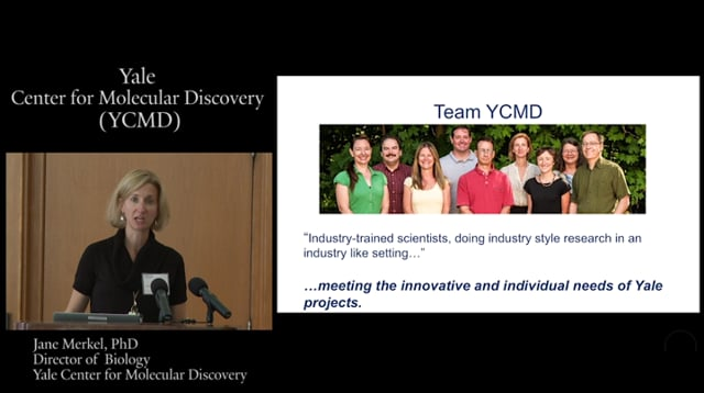Center for Molecular Discovery video