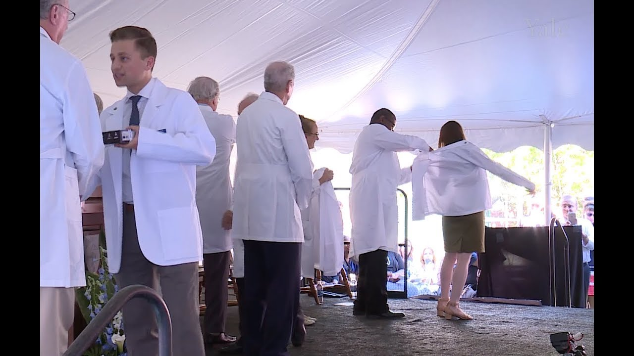 Yale School of Medicine White Coat Ceremony, Class of 2021