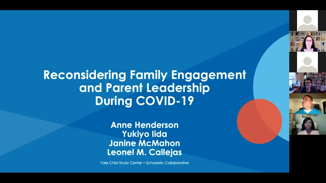 Reconsidering Family Engagement and Parent Leadership (Anne Henderson, Parent Leaders)