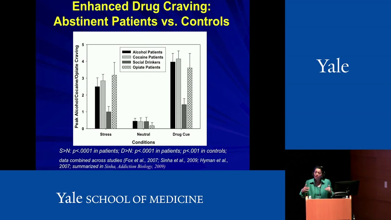 New Approaches to Brain Recover From Addiction - Rajita Sinha, PhD