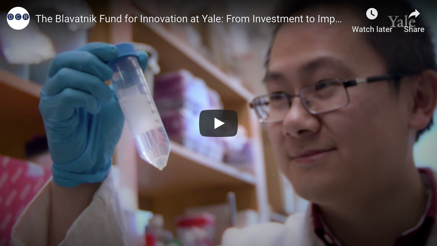 The Blavatnik Fund for Innovation at Yale: From Investment to Impact in 2019